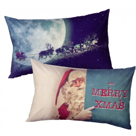 Pillowcases Bassetti Imagine Xmas Father Christmast