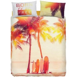 Complete Duvet Cover Set Bassetti Imagine Surfing V1