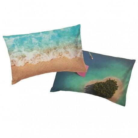 Pillowcase Bassetti Imagine My Nature Sea Sand Beach Island