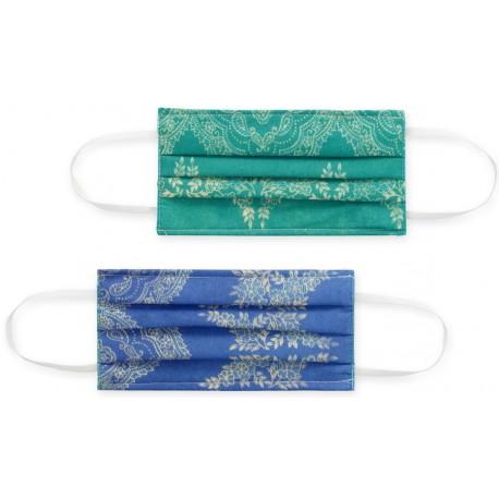 Masques Filtrants Lavables Tissu Bassetti Granfoulard Brunelleschi V2