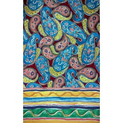 Decorative Throw Bassetti Granfoulard Satin Kankani V1