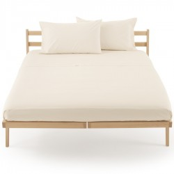 Fitted Sheet Percale Zucchi Clic Clac Butter