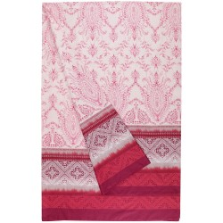 Furnishing Throw Bassetti Granfoulard Faraglioni Rose