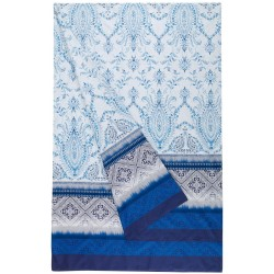 Foulard De Décoration Bassetti Granfoulard Faraglioni Bleu