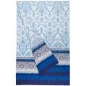 Furnishing Throw Bassetti Granfoulard Faraglioni Blue