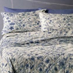 Complete Parure De Draps Zucchi Soul Bleu