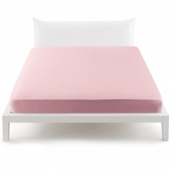 Fitted Sheet Percale Bassetti In Tinta Perfetto With Releaseable Angles Candy Pink