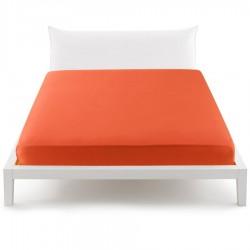 Lenzuolo Da Sotto Percalle Bassetti In Tinta Perfetto Con Angoli Sganciabili Arancio