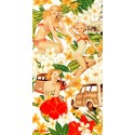 Beach Towel Bassetti Love Pin Up Love Therapy
