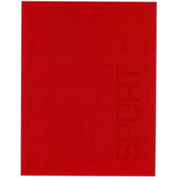 Plaid Bassetti Sport Tricot Rosso