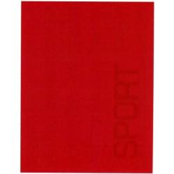 Couvre-Lit Bassetti Sport Piqué Rouge