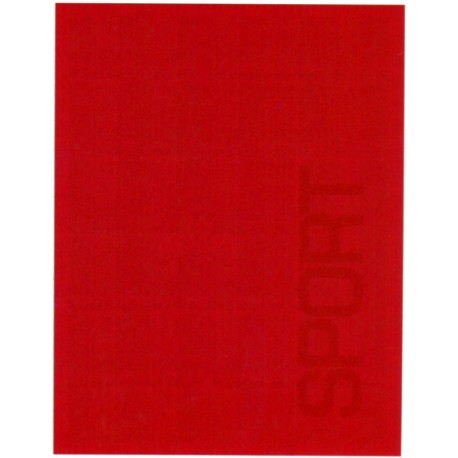 Couvre-Lit Bassetti Sport Piqué Rouge V1