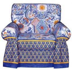Armchair Cover Bassetti Granfoulard Stella