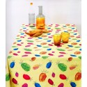 Tablecloth Bassetti Always-Clean Stain-Resistant Yuka Ananas