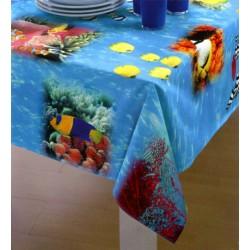 Tablecloth Bassetti La Natura Magie Di Sogno Stain-Resistant Aquarius