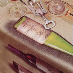 Tablecloth Bassetti Tovaglidea DOC Wine V1
