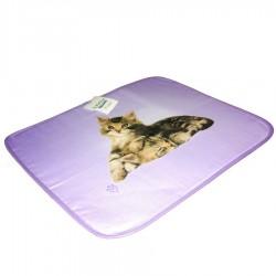 Set Americana Bassetti Double Face Con Tovagliolo Lovely Cat Gatto