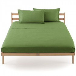 Drap Plat Bassetti Magic Vert Mousse Avec Bordécor