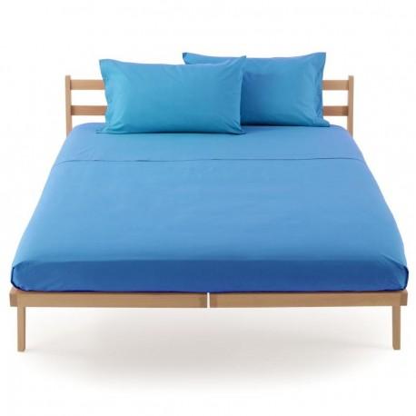 Flat Sheet Bassetti Magic Caribbean Blue With Bordécor