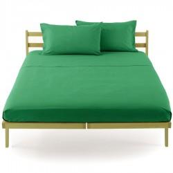 Lenzuolo Da Sotto Bassetti Verde Giada Con Angoli Elastici Sganciabili Perfetto V1356