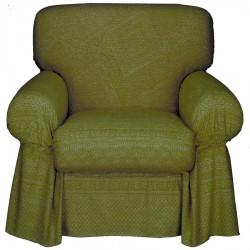 Armchair Cover Bassetti Granfoulard Shamsa Green
