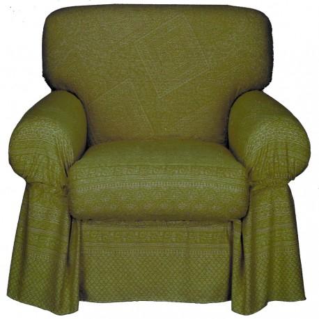 Armchair Cover Bassetti Granfoulard Shamsa V5 Green