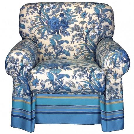Armchair Cover Bassetti Granfoulard Simpson V3 Blue