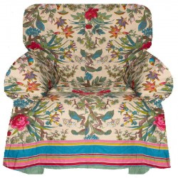Armchair Cover Bassetti Granfoulard Simpson