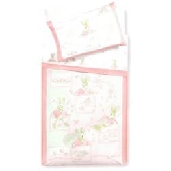 Complete Sheet Set Gabel Carosello Hare Pink 13669