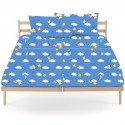 Flat Sheet Bassetti Your Stars Without Elastic Angles