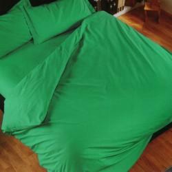 Housse De Couette Bassetti Copripiumone Magic Vert Jade