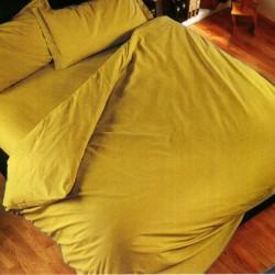 Duvet Cover Bassetti Magic Copripiumone Light Mustard Yellow V1441