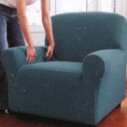 Armchair Cover Zucchi Zapping Double Baby Blue