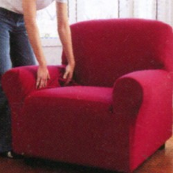 Armchair Cover Zucchi Zapping Double Purple Red