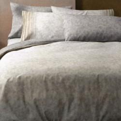 Duvet Cover Set Bassetti Lint Double Pillowcases Beige