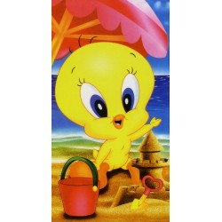 Telo Mare Bassetti Kids Warner Bros Baby Playa Titti