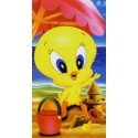 Beach Towel Bassetti Kids Warner Bros Baby Playa Tweety
