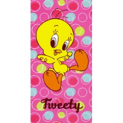 Drap De Plage Bassetti Kids Warner Bros Happy Tweety V1