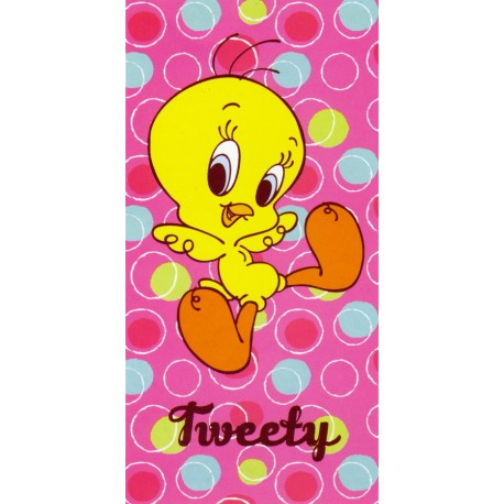Beach Towel Bassetti Kids Warner Bros Happy Tweety V1