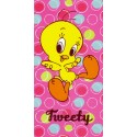 Telo Mare Bassetti Kids Warner Bros Happy Tweety Titti