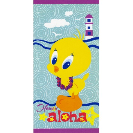 Beach Towel Bassetti Kids Warner Bros Aloha V1