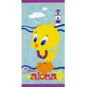Drap De Plage Bassetti Kids Warner Bros Aloha Titi