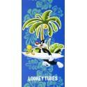 Beach Towel Bassetti Kids Warner Bros Surf Friends Tweety and Sylvester