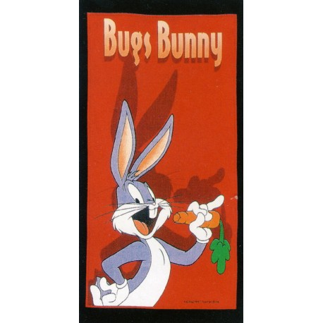 Drap De Plage Bugs Bunny Bassetti Kids Warner Bros Bugs V1