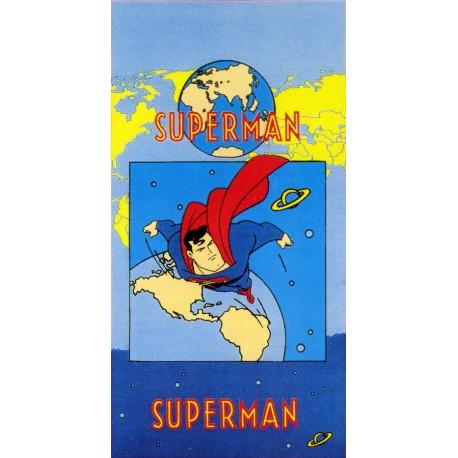 Drap De Plage Superman Bassetti Kids Warner Bros V1