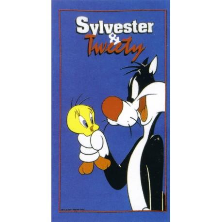 Drap De Plage Titi et Silvestre Bassetti Kids Warner Bros Friends V1