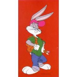 Drap De Plage Bassetti Kids Warner Bros Bugs School Bugs Bunny
