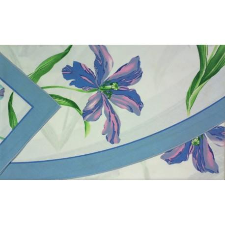 Round Tablecloth With Napkins Gran Tavola Bassetti Tulipier V1