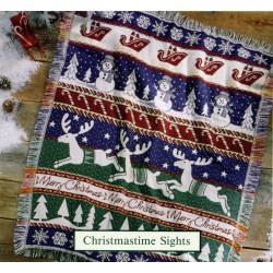 Throw Bassetti Christmastime Sights