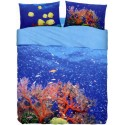 Completo Letto Bassetti Imagine Deep Sea Mare Profondo